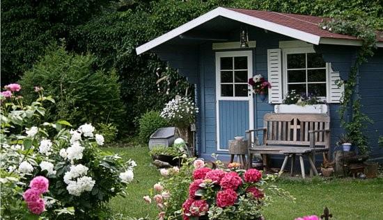 Berühmt Gartenhaus › Frank Dahl Gartenkontor &EP_46
