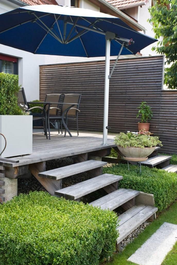 Terrassen bauen und gestalten › Frank Dahl Gartenkontor