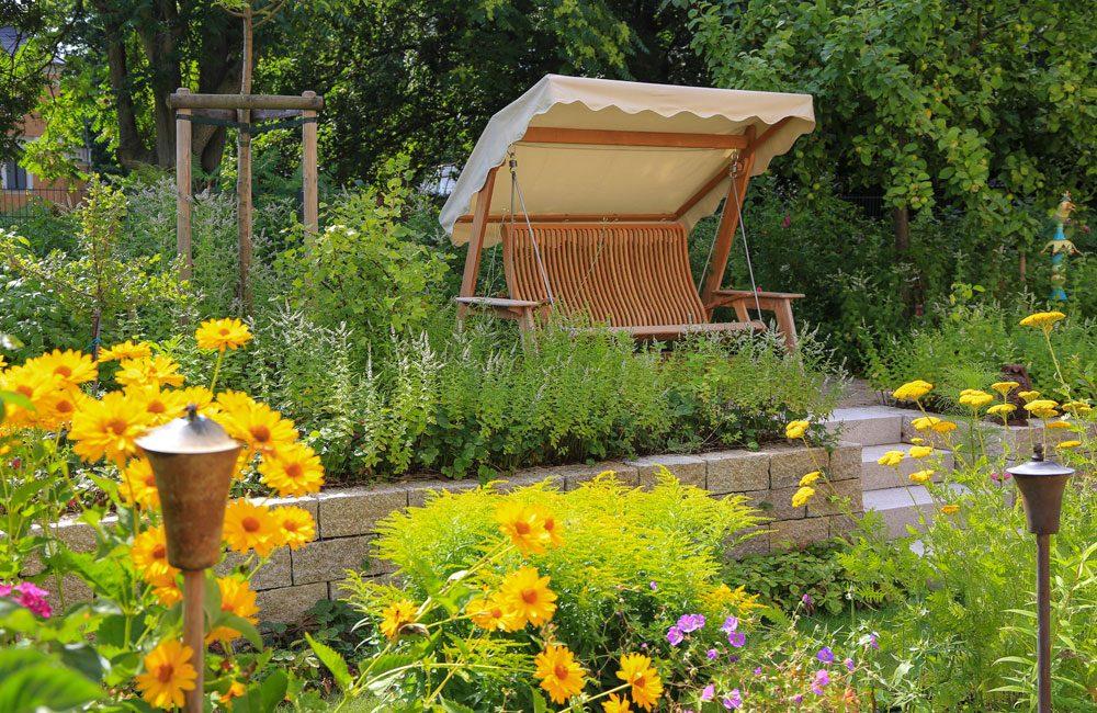 Kleine g rten frank dahl gartenkontor for Gartenplatz gestalten